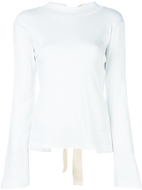 Jacquemus футболка с открытой спиной