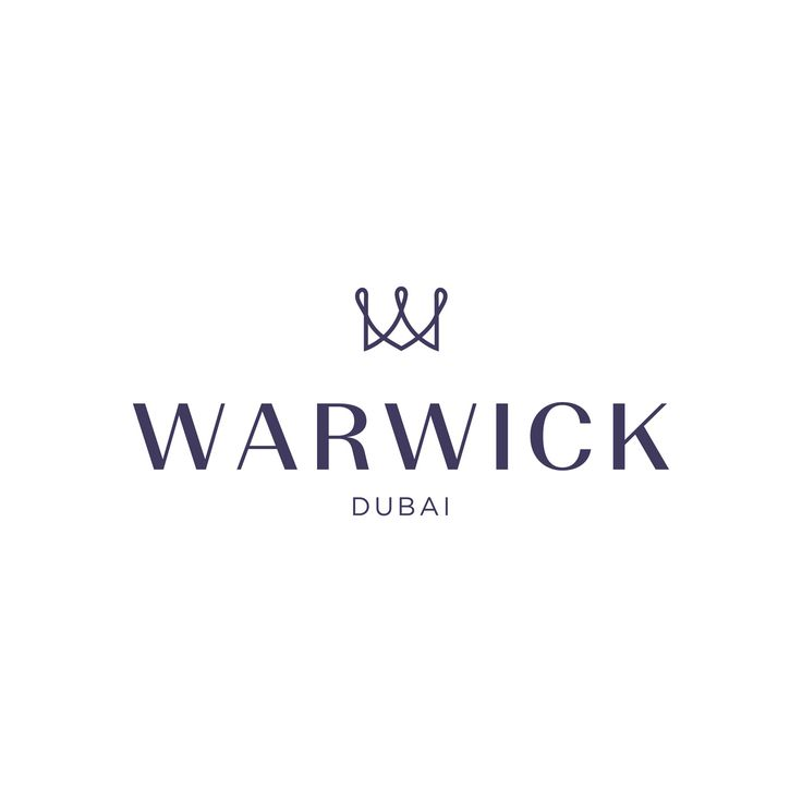 """Warwick Hotels and Resorts has rebranded the entire group of over 50 international hotels, including #WarwickDubai. The new logo features the king's crown, taking the form of the letter """"W"""" for Warwick and applying the colour purple, which is associated with royalty and nobility. The 35-year old brand has been committed to providing our guests with a singularly outstanding experience and this commitment will only continue to grow as we evolve into this new era."""