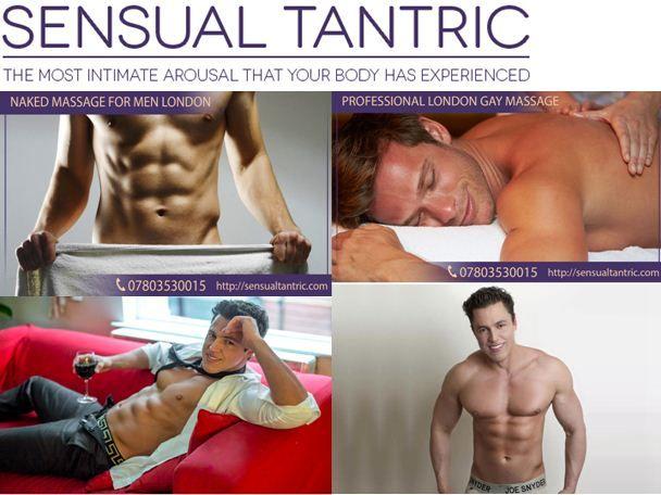Intimate muscular gay massage