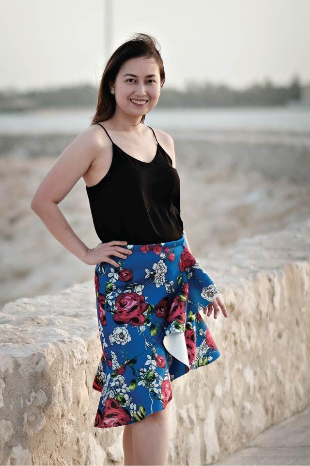 Carmen Flounce Skirt Sewing Pattern (PDF) - Designer Stitch | Röcke ...