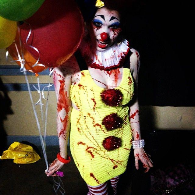 Scary Clown from the annual #VisibleChanges Fisherman's show 2013. (Photo cred: @lilmisszee) #TexasSalon