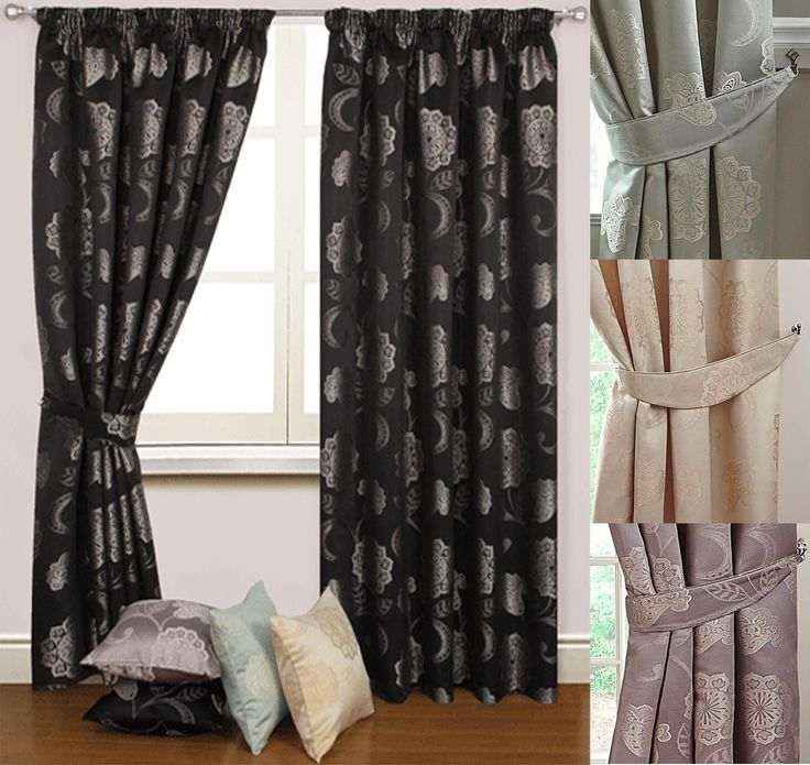 Fenella - absolutely stunning curtains available in 3 colours, perfect for all styles of room decor