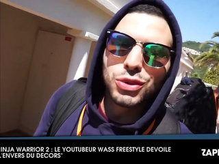 Ninja Warrior 2 : le Youtubeur Wass Freestyle fait des révélations sur les coulisses de l'émission (Vidéo)