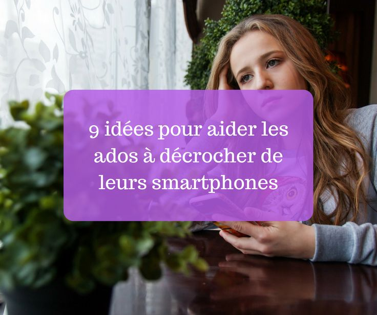 Les smartphones peuvent rapidement devenir une source de conflits et d'inquiétude si une forme d'addiction s'installe au détriment de ce qui se passe dans la vraie vie. Afin de fa…