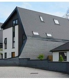 Roof and walls merge in stunning sustainable build