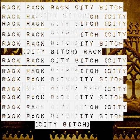 "-- #LyricArt for ""Rack City"" by Tyga"