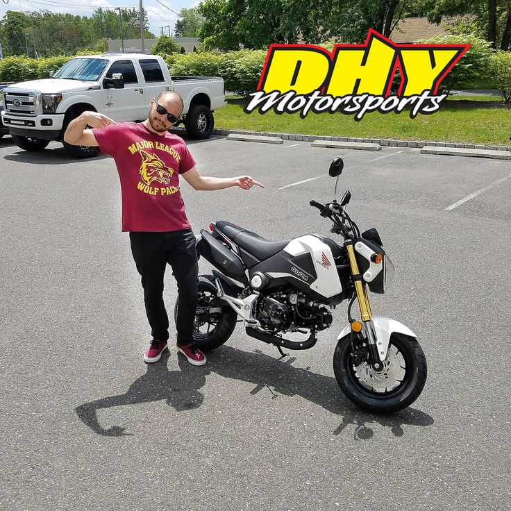 Congratulations to Marcus from #FishingCreek #NJ on the purchase of this 2015 #Honda #Grom #125F Enjoy lots of fun. Thank you for making your purchase at #DHYMotorsports You can help Marcus win a $100 DHY Gift Card by clicking 'Like' on this post. #mynewride #dhynj