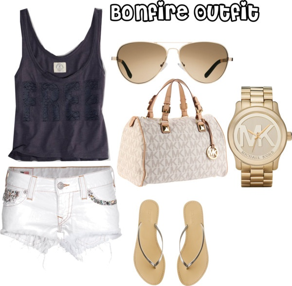 casual Bonfire outfit, created by iheartnyjets on Polyvore