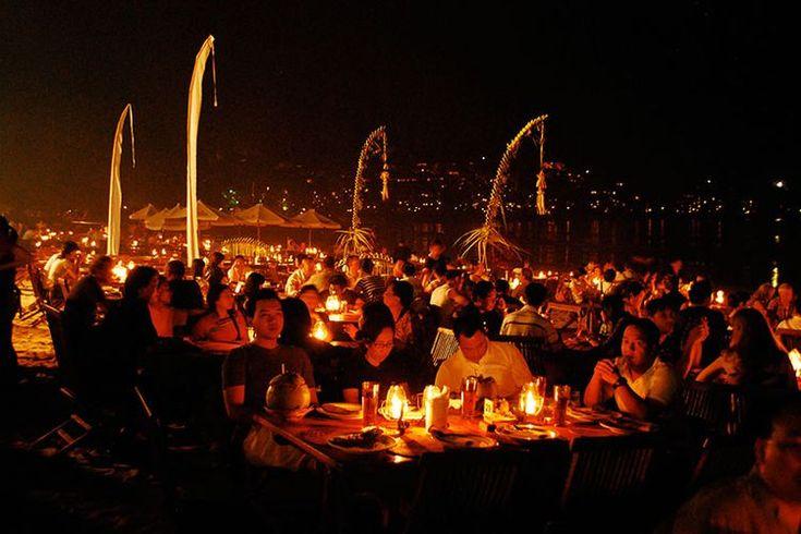 All About Jimbaran, Bali's Romantic Beach Dining Scene