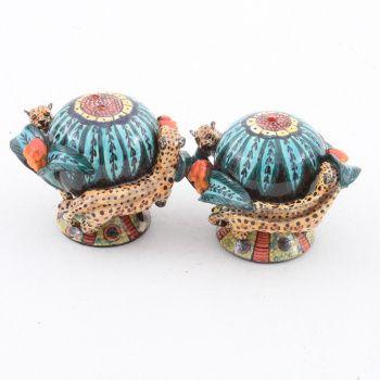 Ardmore Ceramics Leopard Salt/ Pepper