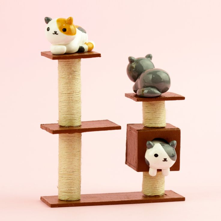 How to make polymer clay Neko Atsume cats and cat condo complex! In this DIY tutorial i make Neko Atsume polymer clay Speckles and Sunny.