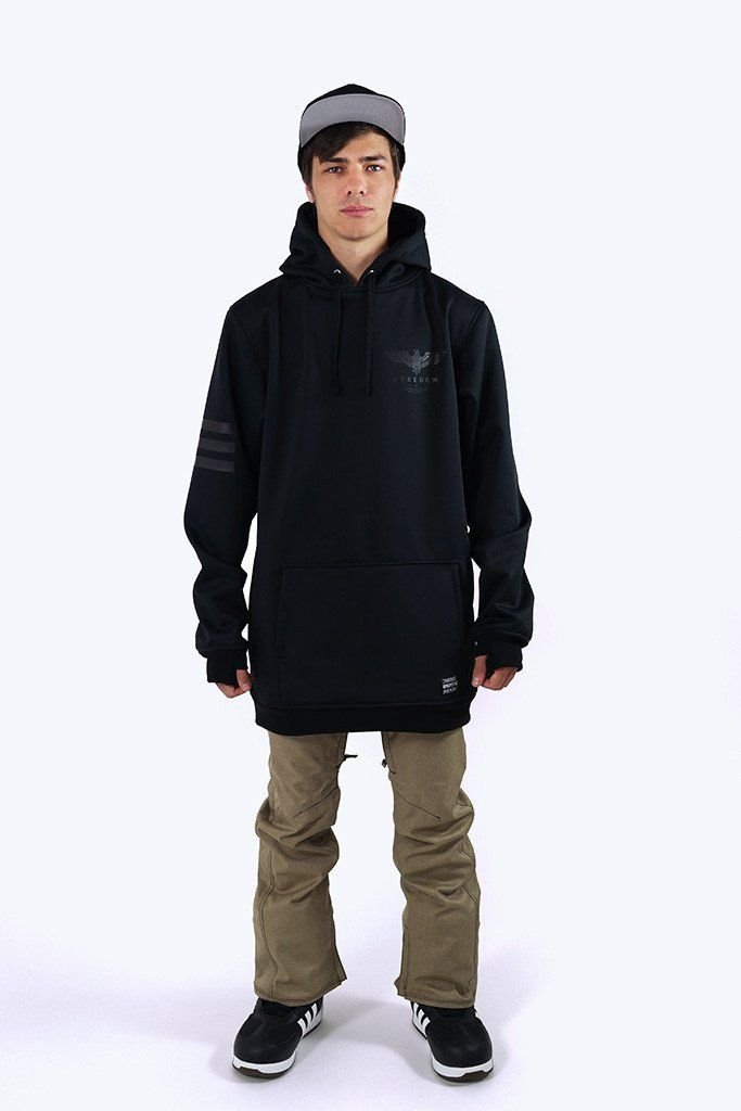 Indyslopestyle Mens Freedom Technical Snowboard Hoodie