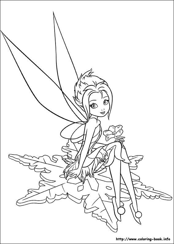 Tinkerbell Secret Of The Wings 12 Coloring Page