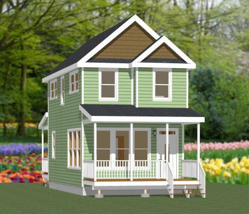 16x30 tiny house 16x30h9j 895 sq ft excellent for 16x30 house plans