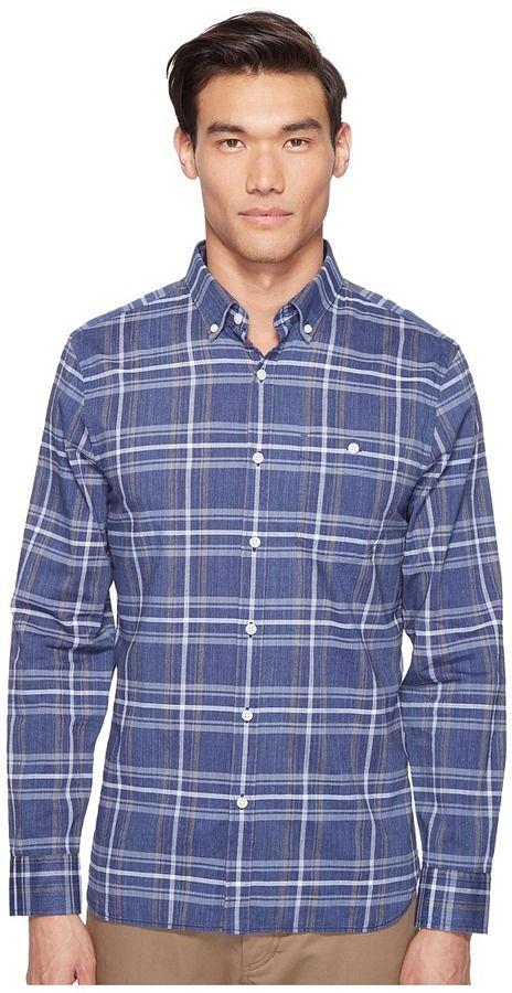 Jack Spade Indigo Check Shirt