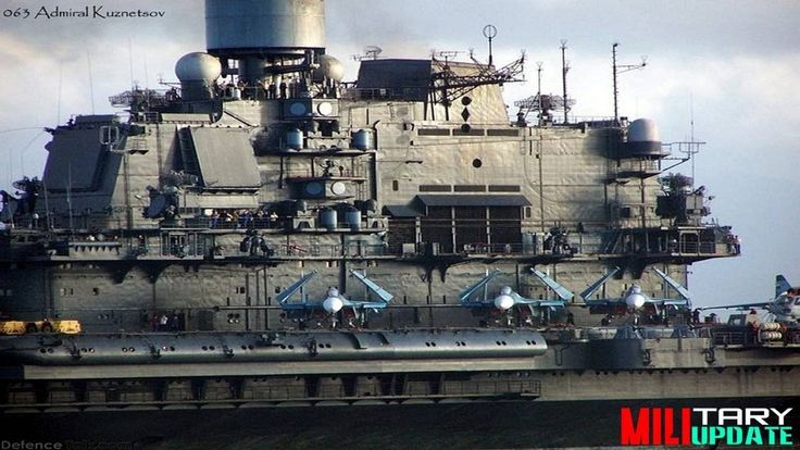 On board Admiral Kuznetsov  : Biggest Aircraft Carrier of Russia