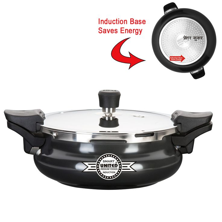 Buy Smart Cooker Hard Anodised 3 in 1 Manufactured By United Pressure Cooker http://goo.gl/gE25K7