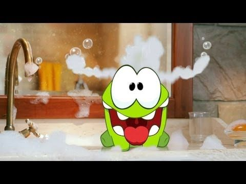 Om Nom Stories - Bath Time (Episode 2, Cut the Rope)
