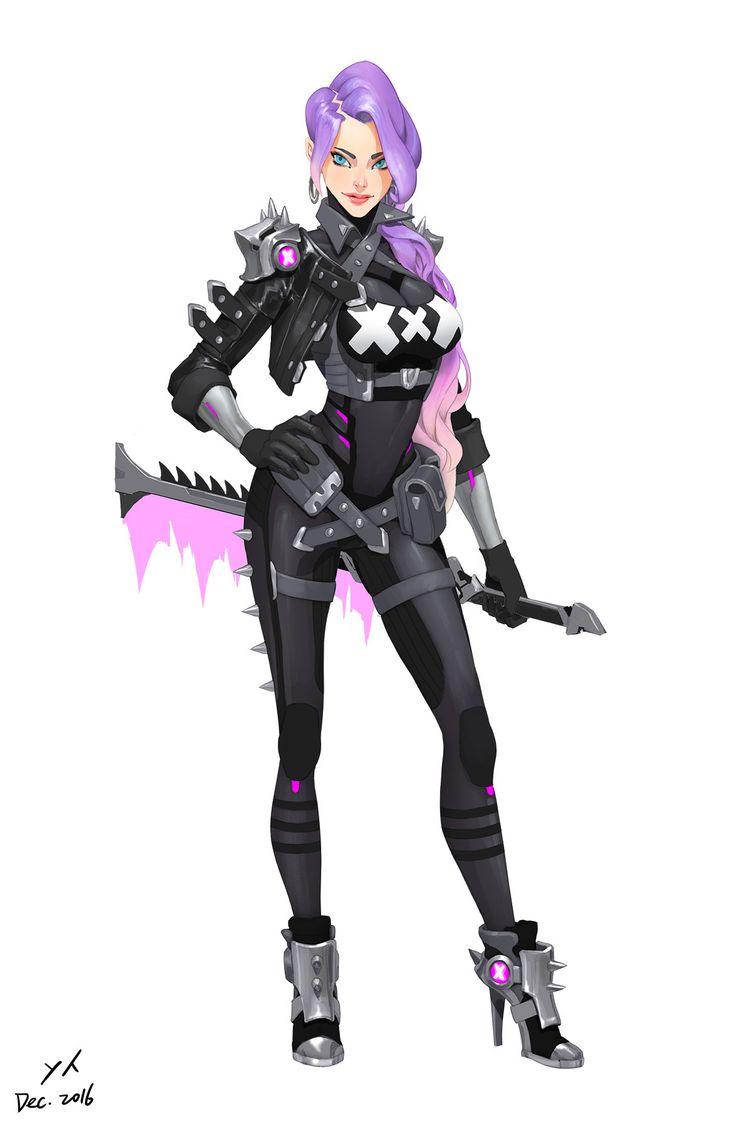 Character Design Concept Art Pdf : Best cyberpunk character ideas on pinterest
