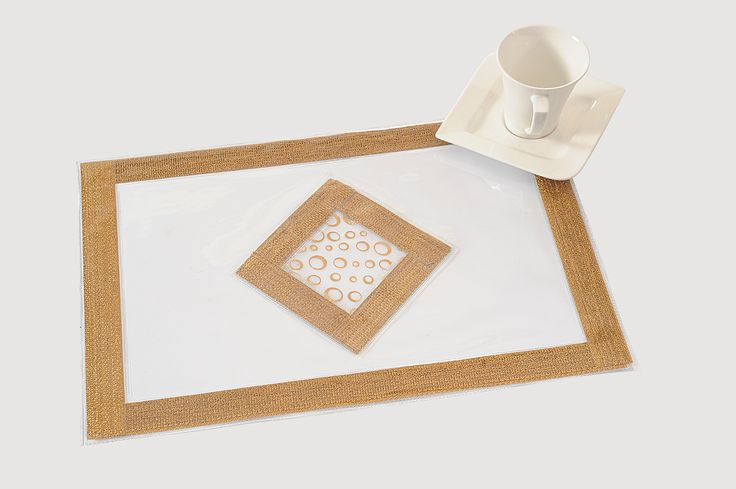 Table Mat : imagine silver