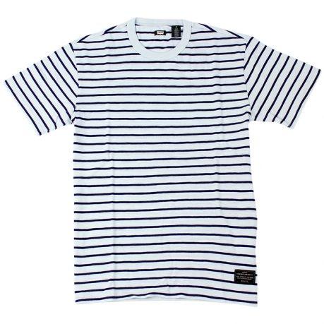 Levi's Skateboarding Collection Skate Striped T Shirt in White