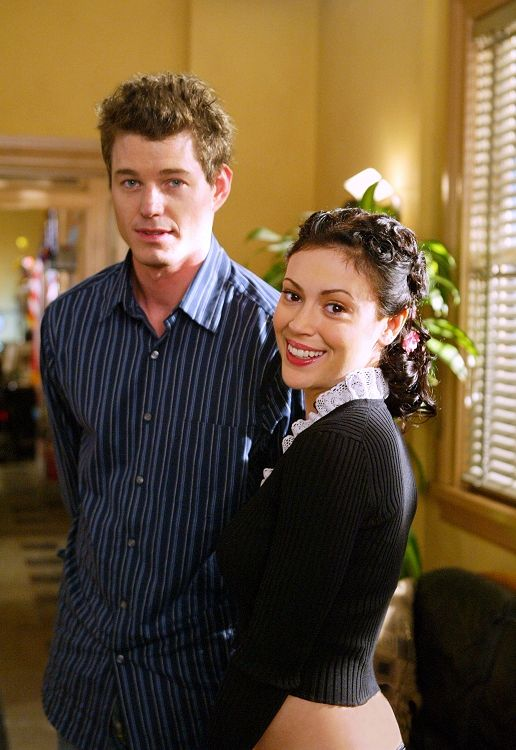Phoebe and Jason (Eric Dane). Charmed season 5 - 6