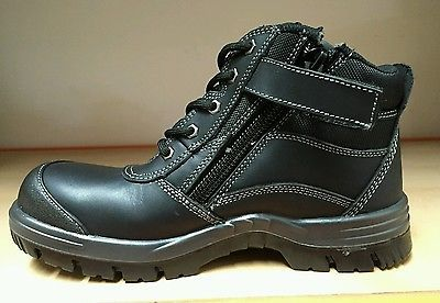 BRAND NEW Bata Zippy Safety Work Boots Size 8