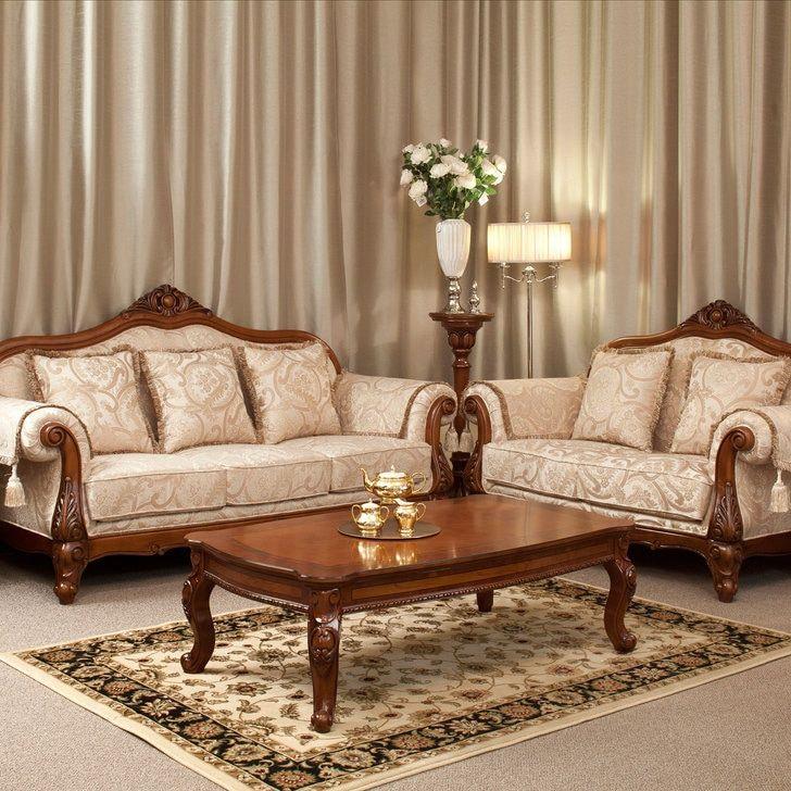 Mozart Sofa In 2020 Wooden Sofa Designs Traditional Living Room Furniture Classic Sofa Sets