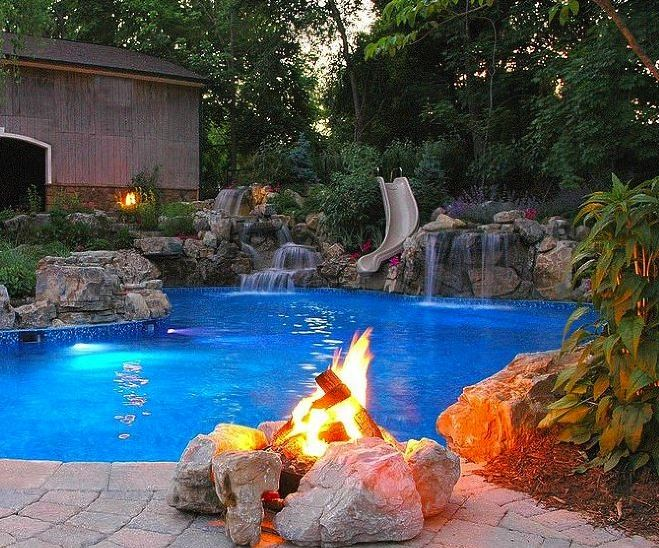 532 best outdoor furniture images on pinterest backyard for Pool garden outlet