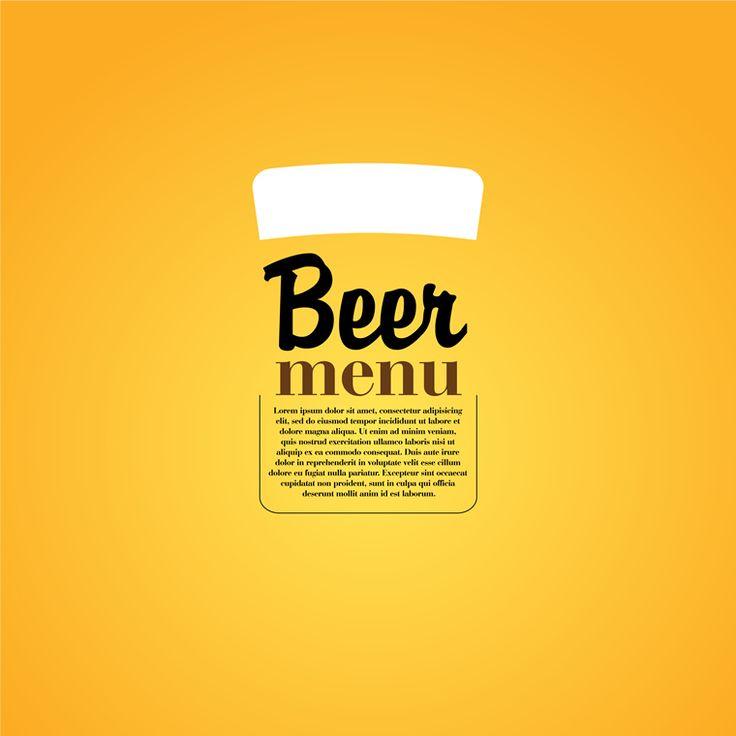 15 best Menu and board ideas images on Pinterest Board ideas - beer menu