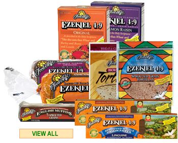 I am gluten intolerant, which means my body doesn't react well to starches made from flour. I substitute Ezekial breads and have come to love them, especially the blueberry English muffins. The products are wonderful IF you toast them and are much more filling than regular bread made with wheat.