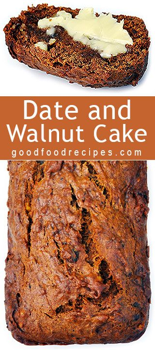 Date and Walnut Loaf | Good Food Recipes
