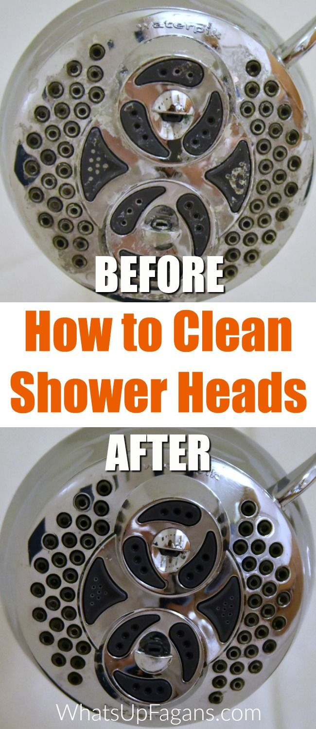 How To Clean Shower Head In Your Bathroom With A Vinegar