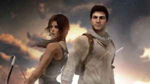 Preview wallpaper tomb raider, lara croft, nathan drake, uncharted 1920x1080