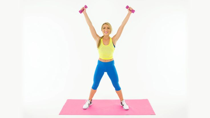 Sculpt Your Upper Body While Working Your Butt: Get double the workout with these moves that will tone your upper body while working your booty.