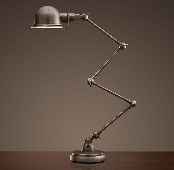 Atelier Scissor Task Table Lamp / Looks like a Jielde to me!!