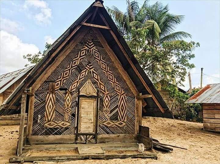 Traditioneel marronhuis