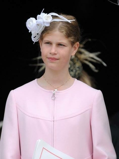 Lady Louise Windsor, daughter of the Earl and Countess of Wessex