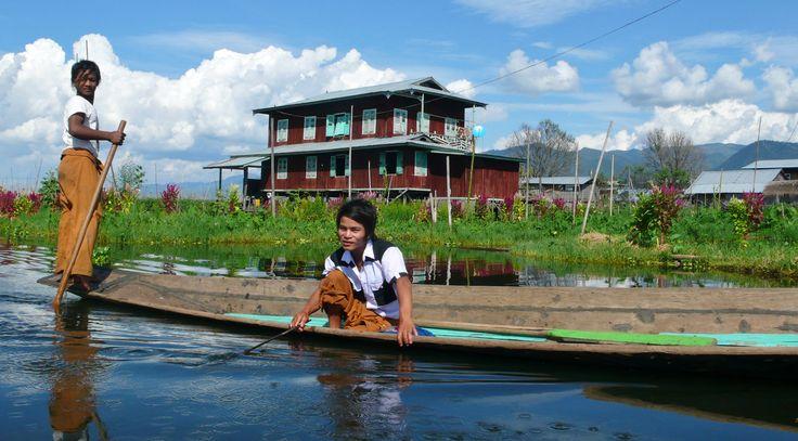 Lac Inlé Birmanie  http://www.globe-trotting.com/#!itineraire-asie-du-sud-est-/ca5r Crédit photo : Alexandre François