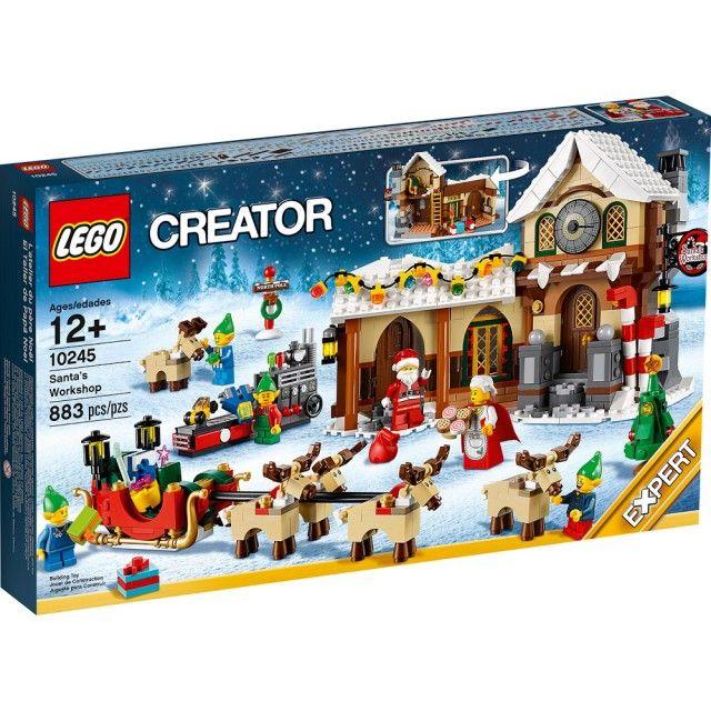 Đồ chơi LEGO 10245 Santa's Workshop