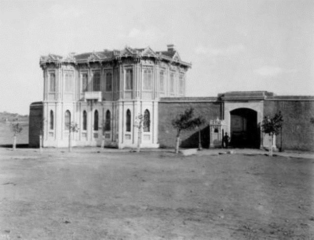 Yıldız Sarayı-Talimhane Köşkü, 1880-1893, Beşiktaş