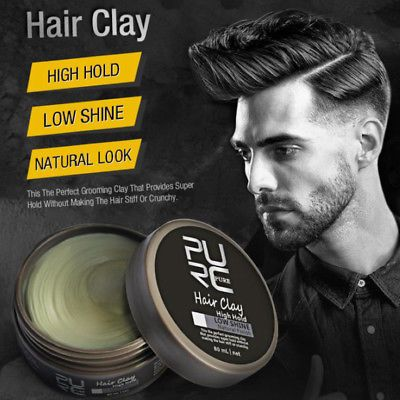 Men-039-s-Cement-Clay-80ml-Hair-Styling-Wax-High-Hold-Barber-Styling-Pomade-Hot-80ml