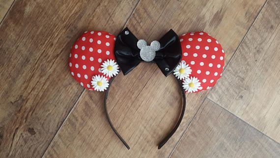 Hey, I found this really awesome Etsy listing at https://www.etsy.com/uk/listing/524515894/classic-minnie-mouse-disney-ears