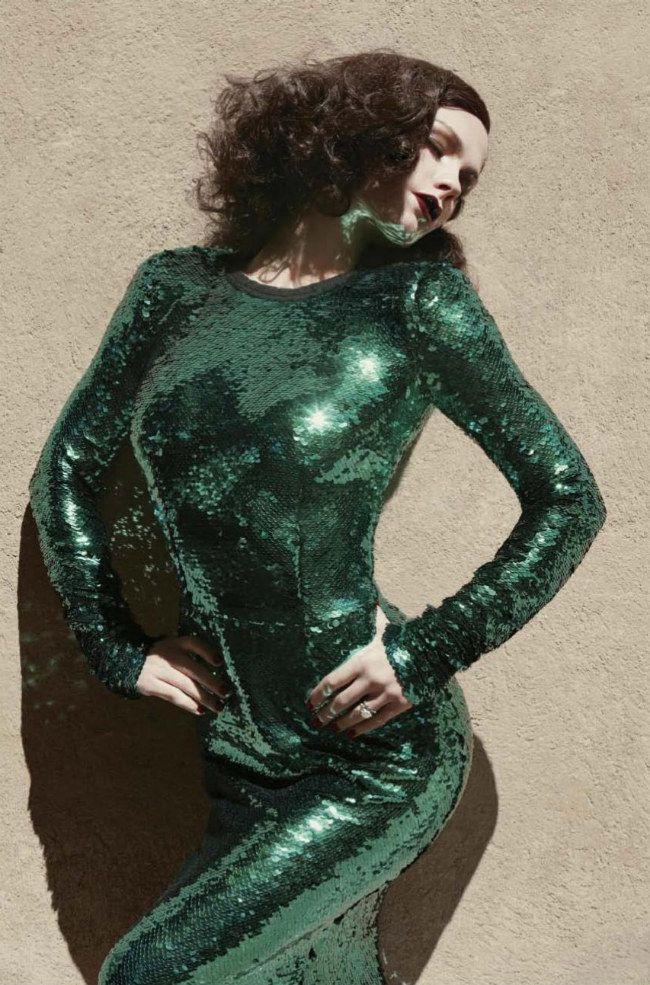 Anna Paquin by Sebastian Faena for V Magazine