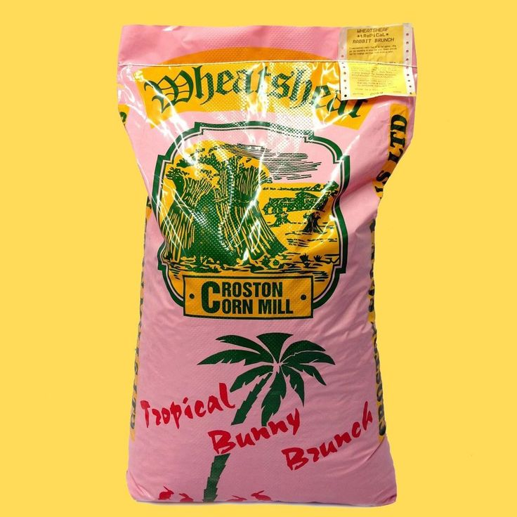 20kg Wheatsheaf TROPICAL Rabbit Brunch with Banana - Fruit Mix Bunny Food Feed in Pet Supplies, Small Animal Supplies, Food | eBay