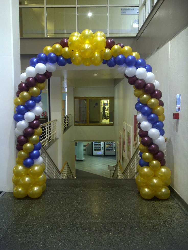 118 best balloons arches images on pinterest balloon for How to build a balloon arch