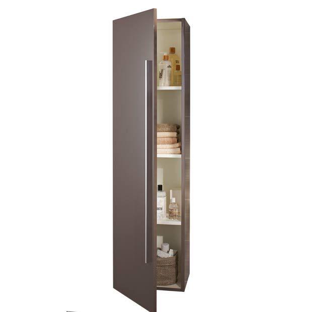 Mod le fokus l 30 cm colonne lapeyre meuble de - Colonne salle de bain lapeyre ...