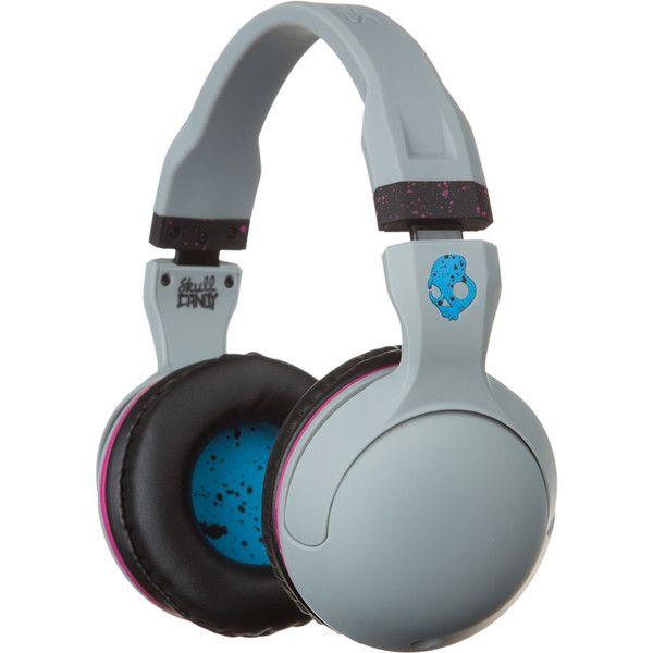 Skullcandy Hesh 2.0 Headphones with Mic ($39) ❤ liked on Polyvore featuring accessories, tech accessories, skullcandy headphones and skullcandy