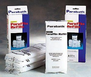 Paraffin Wax Refills - Universal Paraffin Bars Fresh Citrus Scent - 6 lb pkg by Parabath. Save 48 Off!. $20.31. 6 lbs. total (6 bars of 1 lb. each). Specially formulated for use with the Thera-Band ParaBath unit and similar paraffin heat therapy units.