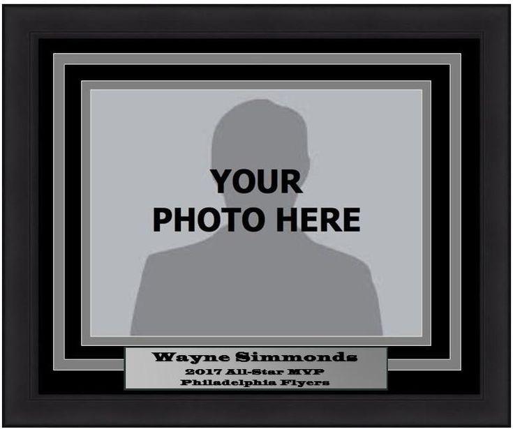 Dynasty Experience Photo Picture Frame Kit - Wayne Simmonds All-Star MVP (Horizontal Frame)